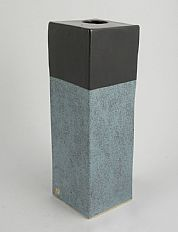 Enclosed Square Vase II