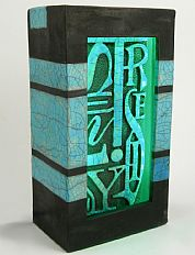 'Tranqulity' Word Light Box
